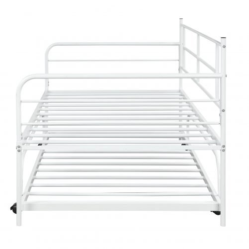 Metal Daybed with Trundle 9