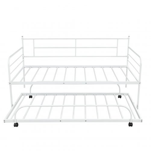 Metal Daybed with Trundle 10