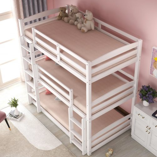 Twin over Twin over Twin Bed Triple 22