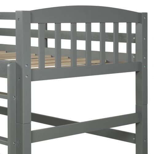 Twin over Twin Loft Bed, can be separated 9