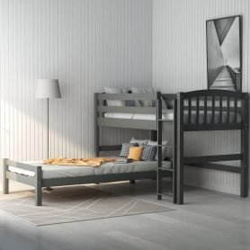 Twin over Twin Loft Bed, can be separated 3
