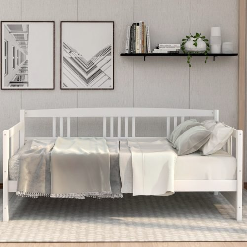 Solid Wood Daybed, Multifunctional 3
